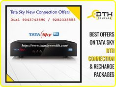 Tata Sky dish. Comparing other DTH, Tata Sky is the best choice and well customer service in India. No Signal problem issues, Fast installation within two hours after booking in Chennai and for other places within 12 hours as per customer needs also installation will be done. Sky New, Funny Sites, High Pictures, Dolby Digital, Boxing News, Chennai, Connection, Customer Service, Dish