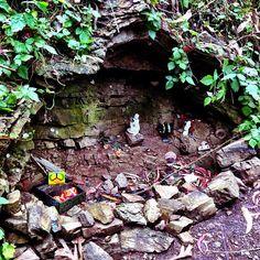 Back yard altars and shrines