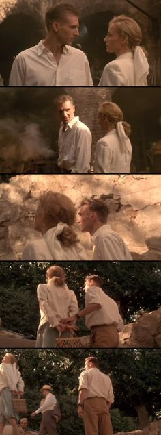The English Patient  -  Almásy: I fear Madox knows about us, he keeps mentioning Anna Karenina.