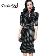 Find More Dresses Information about 2015 New Summer Women Vintage Pinup Keyhole Stretch Ruched Tunic Formal Work Elegant Party Mermaid Bodycon Pencil Midi Dress,High Quality dress kitty,China midi dj Suppliers, Cheap dresses retail from fantaist Store on Aliexpress.com