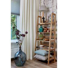 Handig! Op het houten wandrek Toscane kun je al je mooie spulletjes kwijt. #woonahaves #kwantum #kwantum_nederland #daarwoonjebetervan #interior
