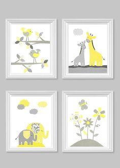 Baby Girl Nursery Decor Girl Nursery Prints by SweetPeaNurseryArt Elephant Nursery Art, Giraffe Nursery, Baby Girl Nursery Decor, Woodland Nursery Decor, Animal Nursery, Baby Room Decor, Nursery Prints, Baby Deco, Flower Nursery