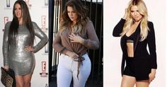 """This year we discovered a Khloe Kardashian with a visibly thinned silhouette … Often considered the """"fat"""" of the Kardashian clan, Kim's little sister and Kourtney Kardashian took revenge and proves it for a few weeks to his detractors on social networks ! Khloe Kardashian, Cameron Diaz, Jenifer, Little Sisters, Revenge, Feel Better, Actus, Fat, Bodycon Dress"""