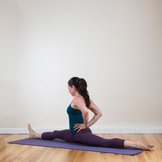 Practice these stretches to get flexible hips and hamstrings