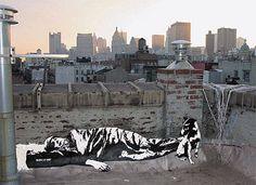 Blek le Rat was born Xavier Prou in Boulogne-Billancourt , Paris in He is considered the godfather of stencil graffiti art. Stencil Graffiti, Stencil Art, Graffiti Art, Street Art Banksy, Street Mural, Street Art Love, Best Street Art, Blek Le Rat, Beaux Arts Paris
