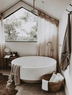 Home Interior Modern .Home Interior Modern Dream Bathrooms, Dream Rooms, Beautiful Bathrooms, Master Bathrooms, Luxury Bathrooms, Bedroom With Bathtub, Master Baths, Boho Bathroom, Bathroom Interior