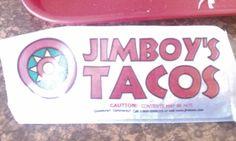 Jimboy's Tacos wrapper