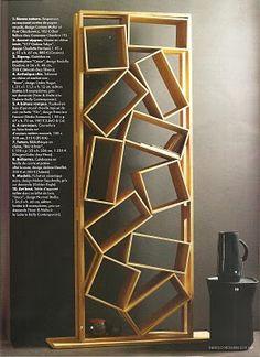 GEORGE Interior Design: Saturday Trend: Asymmetrical Bookshelves?