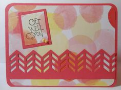 Get Well Greeting Card by susieqpapercreations on Etsy