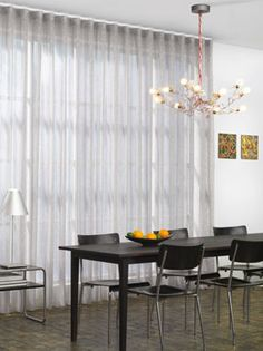 Wave Voile Wall To Wall Curtain