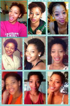Natural hair big chop 2014