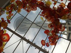 Chihuly in Seattle!!!!