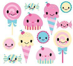 dulces animados - Buscar con Google