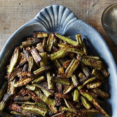 Spicy Oven-Roasted Okra recipe on Food52