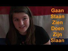 Dutch  Language Lesson - Learn Dutch - Regular Verbs Part I - YouTube