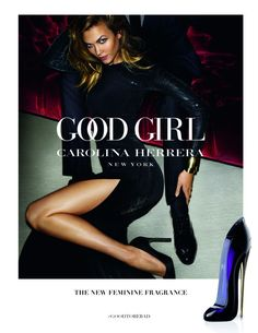 Karlie Kloss stars in the Carolina Herrera Good Girl fragrance campaign. It was photographed by Mario Testino. Carolina Herrera 212, Perfume Carolina Herrera, Good Girl Carolina Herrera, Carolina Herera, 212 Vip, Karlie Kloss, Fragrance Parfum, New Fragrances, Belize