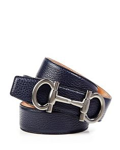 c4fde3710b3b Salvatore Ferragamo Muflone Leather Belt with Parigi Buckle -  Bloomingdale s Exclusive