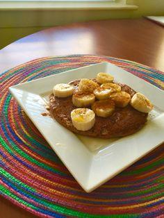 Banana/Chocolate pancake!