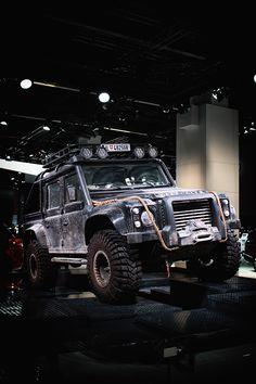 Land Rover Defender x James Bond Spectre