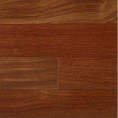 """IndusParquet 3-1/4"""" Engineered Santos Mahogany Hardwood Flooring in Natural"""