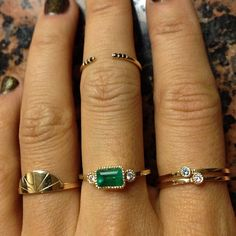 Jennie Kwon Designs Rings