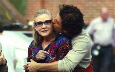 """""""Star Wars: The Last Jedi"""" Teaser zeigt letzte Aufnahmen von Carrie Fisher"""