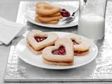 Picture of Almond Heart Cookies Recipe