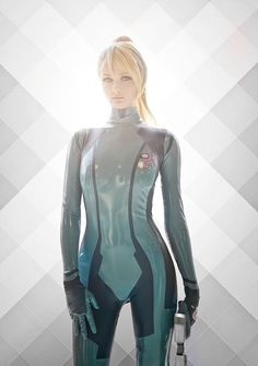 Zero Suit Samus Cosplay Is Excellent
