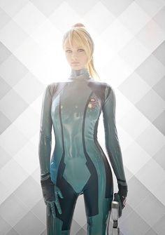 Zero Suit Samus Cosplay Is Excellent