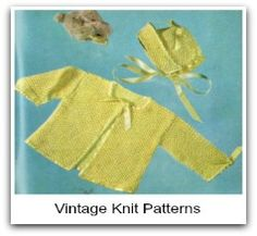Free knitting patterns for sweaters that will look so sweet on the baby..