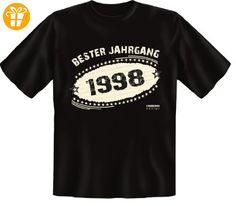 Geburtstags Fun T-Shirt Jahrgang 1988 Geschenk zum 19. Geburtstag auch in Übergrößen 3XL 4XL 5XL Weihnachtsgeschenk (*Partner-Link)