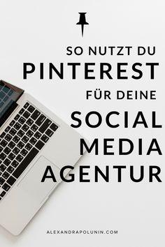 """So nutzt du Pinterest für deine Social-Media-Agentur oder PR-Agentur! Ich habe Elisa Ochmann, Gründerin und Inhaberin der Kommunikationsagentur """"ElisaZunder"""" zu ihrer Pinterest-Strategie interviewt. #pinterest #pinterestmarketing #pinterestmarketingtipps #pinteresttipps #socialmediamarketing"""