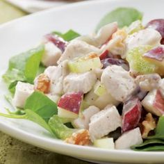 Waldorf chicken salad #recipe
