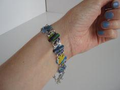 Upcycled Brisk can bracelet