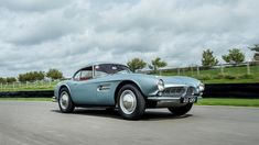racing legend john surtees' BMW 507 roadster is up for auction - Dr Wong - Emporium of Tings. Ferrari, Lamborghini Aventador, Bmw 507, Small Luxury Cars, Goodwood Festival Of Speed, Retro Cars, Chevrolet Camaro, Car Show, Motor Car