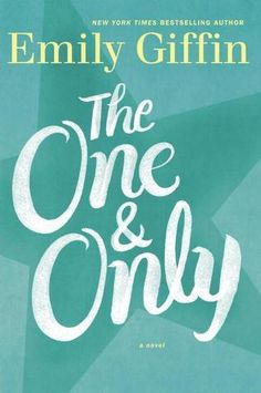'The One  Only: A Novel' by Emily Giffin.  A small town Texas girl must suddenly face some facts of life in this smart novel about the choices women make.