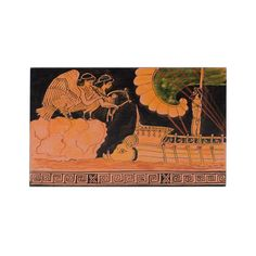 Hand made painting in wood with red figure theme Greek History, How To Make Paint, Acrylic Colors, Paintings, Wood, Artwork, Handmade, Work Of Art, Hand Made
