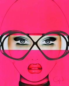 """lilygoat: """" """"For Your Eyes Only Pink"""" Anja Van Herle """""""