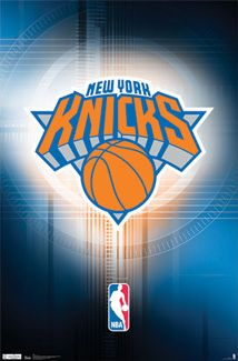 New York Knicks Official NBA Basketball Team Logo Poster - Costacos Sports