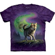 The Mountain Wolf T-shirt | Aurora Wolfpack