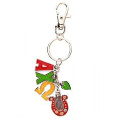 Charm Alpha Chi Omega Keychain available now from AlphaChiOmegaStore.com.