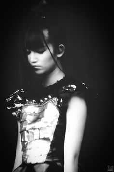 The best is yet to come. | phenomenon-z:   MatBLACK - Retouched SU-METAL