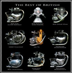 The Best of British Motorcycles....