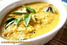 Lemon n Spice: NADAN MEEN CURRY / KERALA FISH CURRY WITH COCONUT MILK