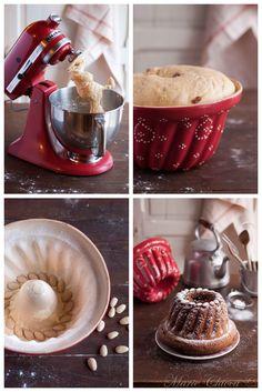Mon (super bon…) Kouglof bio à l'épeautre et aux fruits séchés Muesli, Granola, German Cake, Masterchef, Afternoon Snacks, Fabulous Foods, Naan, Cupcake Cakes, Cupcakes