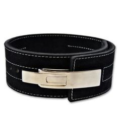 Powerlifting Belt with Lever Buckle -... $59.99 #bestseller