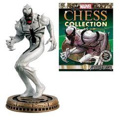 Marvel Amazing Spider-Man Anti-Venom Black Pawn Chess Piece with Collector…
