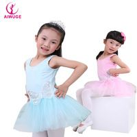 OEM Child Pink Sequin Butterfly Show Girl's Ballet Dance Dress Costume