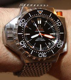 Omega Seamaster Ploprof 1200M Watch