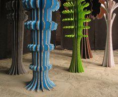 Ferry Staverman cardboard sculptures